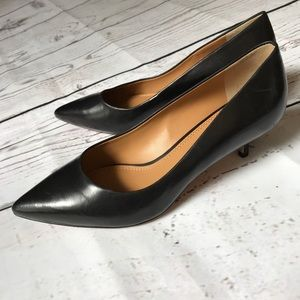 Tory Burch Elena Pointed Toe Heel Pump Size 5.5